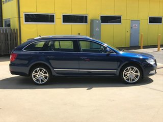2011 Skoda Superb 3T MY11 Elegance DSG 191FSI Blue 6 Speed Sports Automatic Dual Clutch Wagon