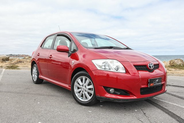 Used Toyota Corolla ZRE152R Levin SX Lonsdale, 2007 Toyota Corolla ZRE152R Levin SX Red 4 Speed Automatic Hatchback