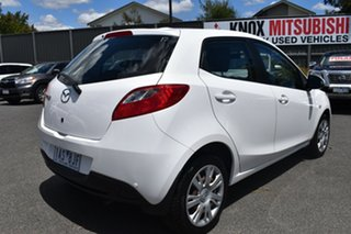 2010 Mazda 2 DE10Y1 Neo White 4 Speed Automatic Hatchback.