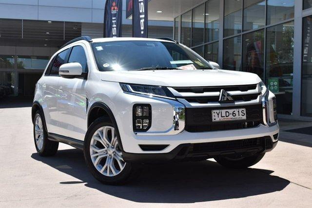 Demo Mitsubishi ASX XD MY21 LS (2WD) Blacktown, 2021 Mitsubishi ASX XD MY21 LS (2WD) White Solid Continuous Variable Wagon