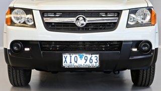 2009 Holden Colorado RC MY09 LX Crew Cab 4x2 White 5 Speed Manual Utility