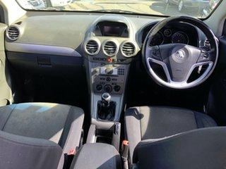 2011 Holden Captiva CG Series II 5 (FWD) Silver 6 Speed Manual Wagon