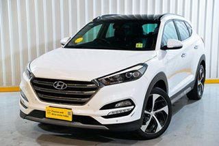 2017 Hyundai Tucson TLe MY17 Highlander D-CT AWD White 7 Speed Sports Automatic Dual Clutch Wagon