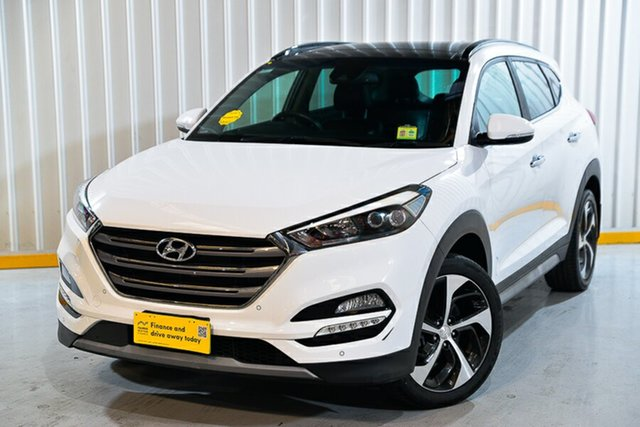 Used Hyundai Tucson TLe MY17 Highlander D-CT AWD Hendra, 2017 Hyundai Tucson TLe MY17 Highlander D-CT AWD White 7 Speed Sports Automatic Dual Clutch Wagon