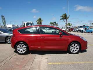 2007 Citroen C4 VTS Red 5 Speed Manual Coupe.