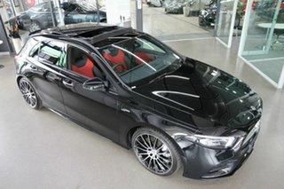 2020 Mercedes-Benz A-Class W177 800+050MY A35 AMG SPEEDSHIFT DCT 4MATIC Black 7 Speed
