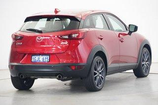 2017 Mazda CX-3 DK2W7A sTouring SKYACTIV-Drive Burgundy 6 Speed Sports Automatic Wagon