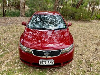 2011 Kia Cerato TD MY12 SI Spicy Red/dark Grey 6 Speed Manual Hatchback