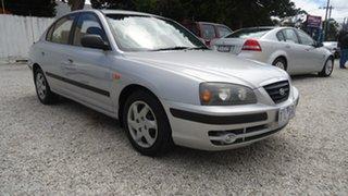 2003 Hyundai Elantra XD GL Silver 4 Speed Automatic Sedan.