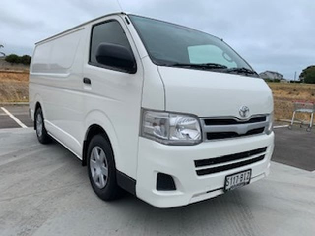 Used Toyota HiAce KDH201R MY11 LWB Victor Harbor, 2012 Toyota HiAce KDH201R MY11 LWB White 5 Speed Manual Van