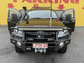 2007 Toyota Hilux Black 6 Speed Manual Dual Cab.
