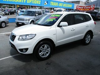 2010 Hyundai Santa Fe SLX White 5 Speed Automatic Wagon