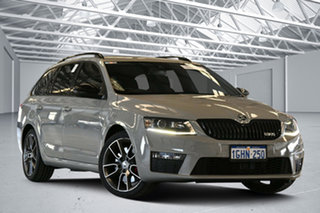 2016 Skoda Octavia NE MY17 RS 162 TSI Grey 6 Speed Direct Shift Wagon.