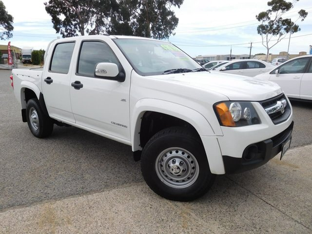 Used Holden Colorado RC MY09 LX Crew Cab 4x2 Wangara, 2009 Holden Colorado RC MY09 LX Crew Cab 4x2 White 4 Speed Automatic Utility