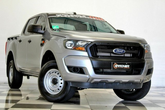 Used Ford Ranger PX MkII XL 2.2 Hi-Rider (4x2) Burleigh Heads, 2015 Ford Ranger PX MkII XL 2.2 Hi-Rider (4x2) Grey 6 Speed Automatic Crew Cab Pickup
