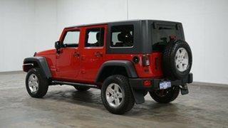 2012 Jeep Wrangler JK MY2012 Unlimited Sport Red 6 Speed Manual Softtop.