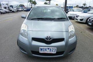 2008 Toyota Yaris NCP90R 08 Upgrade YR Grey 4 Speed Automatic Hatchback.