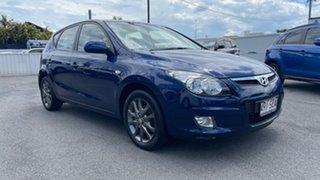2011 Hyundai i30 FD MY11 SLX Atlantic Blue 4 Speed Automatic Hatchback.