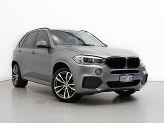 2015 BMW X5 F15 MY15 xDrive 40D Grey 8 Speed Automatic Wagon.