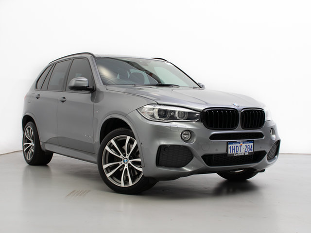 Used BMW X5 F15 MY15 xDrive 40D, 2015 BMW X5 F15 MY15 xDrive 40D Grey 8 Speed Automatic Wagon