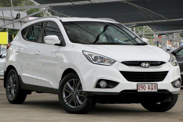 Used Hyundai ix35 LM3 MY15 SE AWD Bundamba, 2015 Hyundai ix35 LM3 MY15 SE AWD White 6 Speed Sports Automatic Wagon