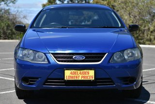 2008 Ford Falcon BF Mk III XT Blue 4 Speed Sports Automatic Wagon.