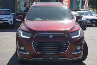 2017 Holden Captiva CG MY18 LTZ AWD Red 6 Speed Sports Automatic Wagon.