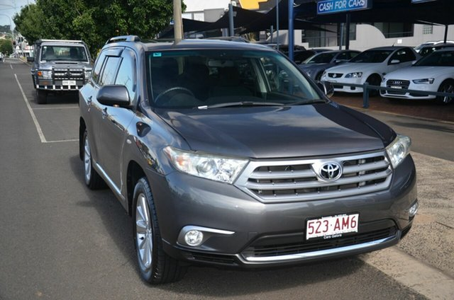 Used Toyota Kluger GSU40R MY12 Altitude (FWD) 7 Seat Toowoomba, 2012 Toyota Kluger GSU40R MY12 Altitude (FWD) 7 Seat Grey 5 Speed Automatic Wagon