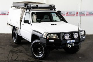 2012 Nissan Patrol MY11 Upgrade DX (4x4) 5 Speed Manual Leaf Cab Chassis.