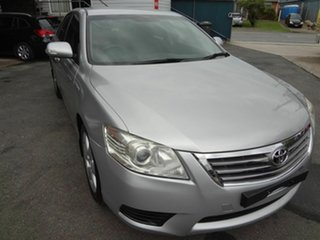 2010 Toyota Aurion GSV40R 09 Upgrade AT-X Silver 6 Speed Auto Sequential Sedan