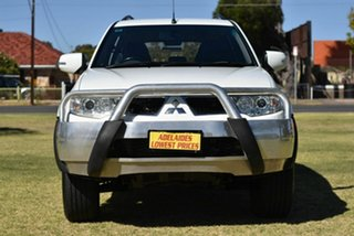 2012 Mitsubishi Challenger PB (KH) MY13 LS White 5 Speed Sports Automatic Wagon.