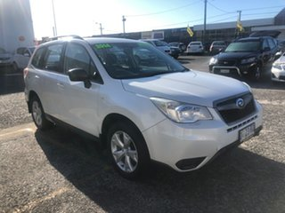 2014 Subaru Forester S4 MY14 2.0D AWD White 6 Speed Manual Wagon.