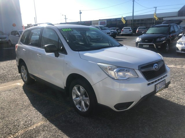 Used Subaru Forester S4 MY14 2.0D AWD Derwent Park, 2014 Subaru Forester S4 MY14 2.0D AWD White 6 Speed Manual Wagon