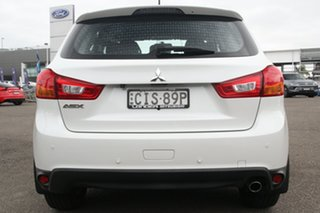 2012 Mitsubishi ASX XA MY12 2WD White 6 Speed Constant Variable Wagon