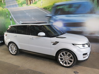 2015 Land Rover Range Rover LW MY16.5 Sport SDV8 HSE Dynamic White 8 Speed Automatic Wagon.