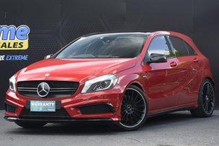 2014 Mercedes-Benz A-Class W176 A45 AMG SPEEDSHIFT DCT 4MATIC Red 7 Speed.