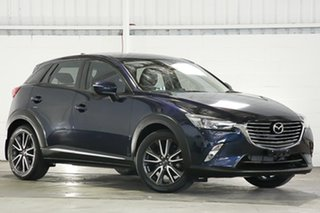 2016 Mazda CX-3 DK2W7A Akari SKYACTIV-Drive Blue 6 Speed Sports Automatic Wagon.