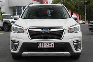 2019 Subaru Forester S5 MY20 Hybrid L CVT AWD White 7 Speed Constant Variable Wagon Hybrid