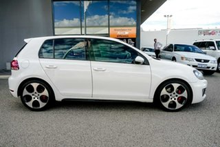 2010 Volkswagen Golf VI MY11 GTI DSG White 6 Speed Sports Automatic Dual Clutch Hatchback.
