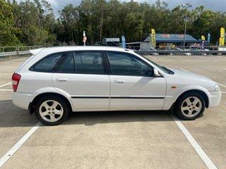 1999 Mazda 323 ASTINA BJ White 5 Speed Manual Hatchback.