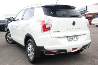 2019 Ssangyong Tivoli X100 ELX 2WD White 6 Speed Sports Automatic Wagon.