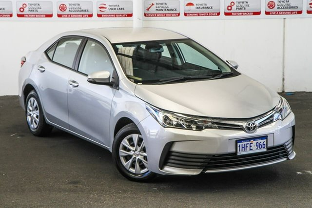 Pre-Owned Toyota Corolla ZRE172R Ascent S-CVT Myaree, 2019 Toyota Corolla ZRE172R Ascent S-CVT Silver Ash 7 Speed Constant Variable Sedan
