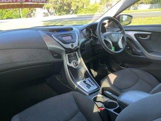 2011 Hyundai Elantra HD MY10 SX Red 4 Speed Automatic Sedan