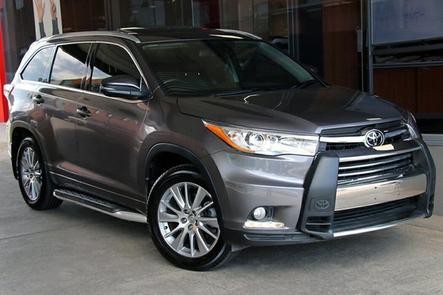 Pre-Owned Toyota Kluger GSU50R Grande 2WD Preston, 2015 Toyota Kluger GSU50R Grande 2WD Predawn Grey 6 Speed Sports Automatic Wagon