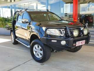 2016 Nissan Navara NP300 ST Black 6 Speed Automatic Dual Cab.