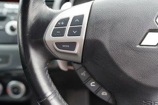2007 Mitsubishi Lancer CJ VR-X Blue 6 Speed CVT Auto Sequential Sedan