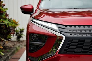 2020 Mitsubishi Eclipse Cross YB MY21 LS 2WD Brilliant Red 8 Speed Constant Variable Wagon