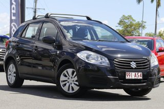 2013 Suzuki S-Cross JY GL Cosmic Black 7 Speed Constant Variable Hatchback.
