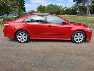 2007 Toyota Camry ACV40R Sportivo Red 5 Speed Automatic Sedan.