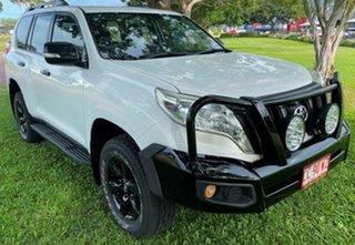2014 Toyota Landcruiser Prado KDJ150R MY14 GX White 6 Speed Manual Wagon.
